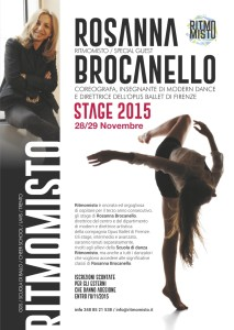 Ritmomisto, Rosanna Brocanello stage (flyer A5)-3